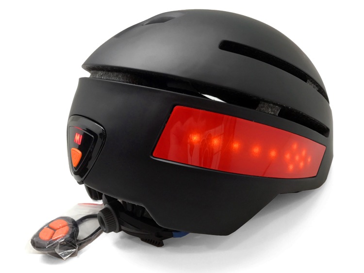 LED road bike helmet