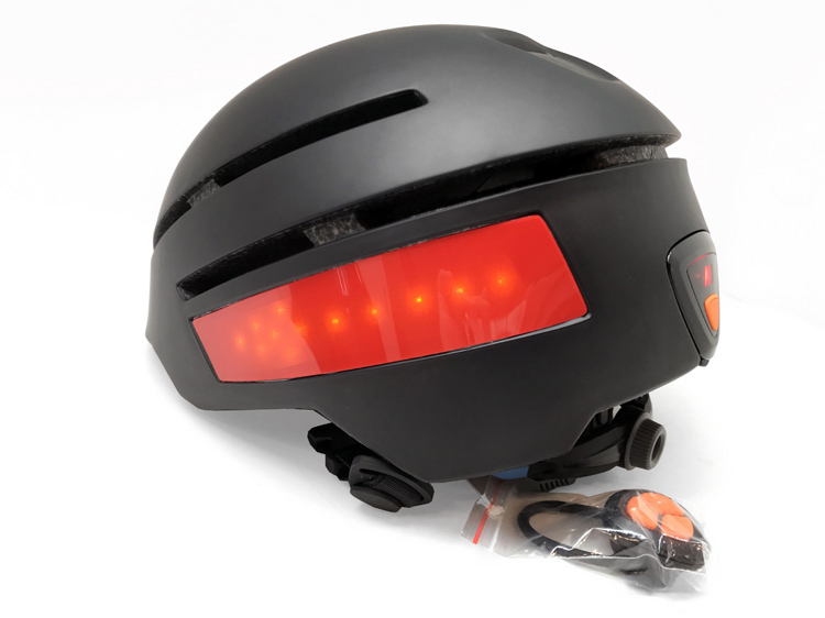 smart LED bike helmet