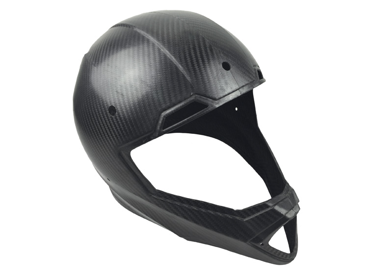 Prepreg Carbon Fiber motorcycle parts rear hugger (Autoclave process)