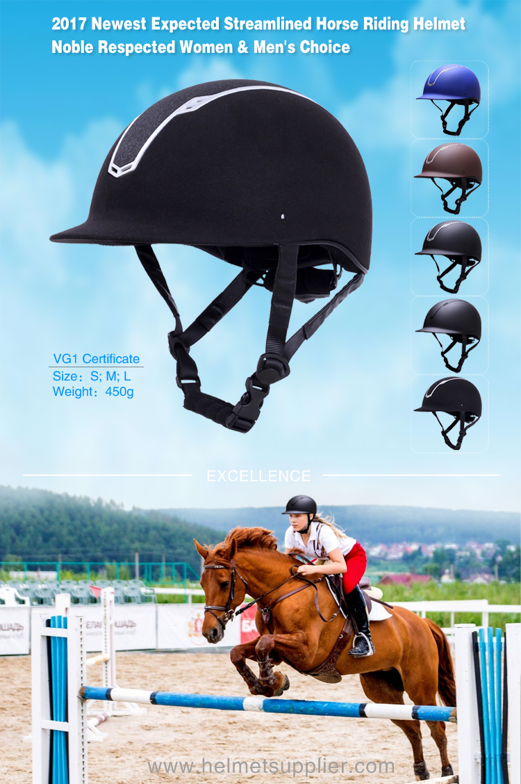 Competition riding hats