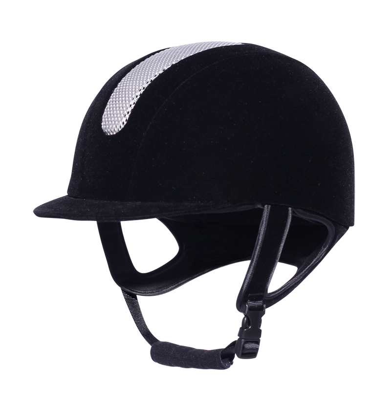 purple riding hat