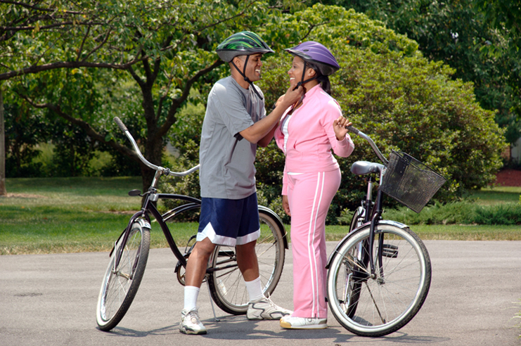 women bicycle helmet