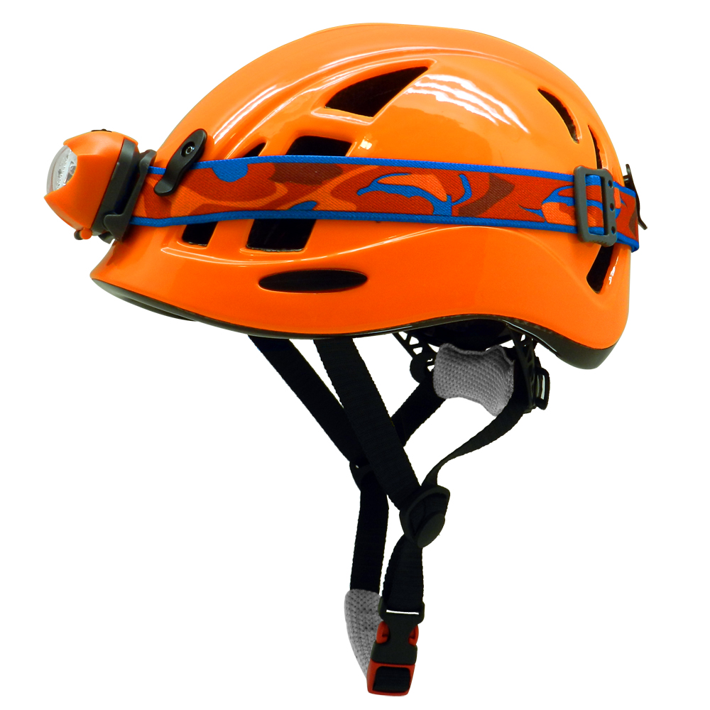 Arborist protection helmet