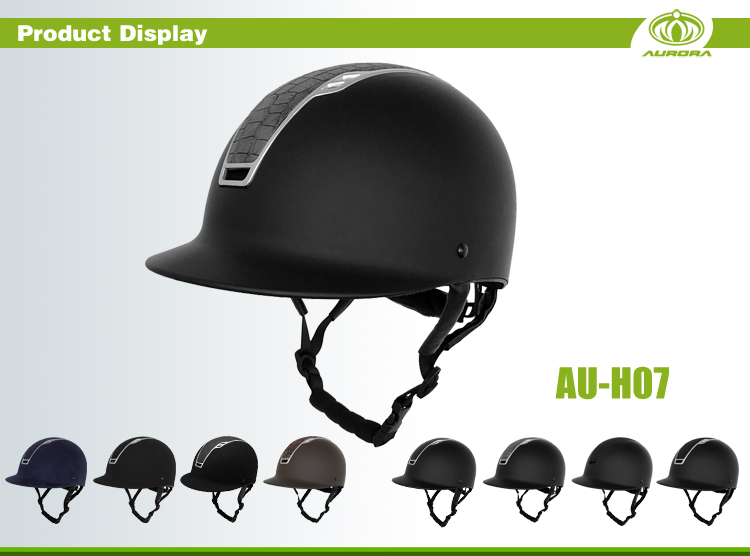high-end horse riding helmet