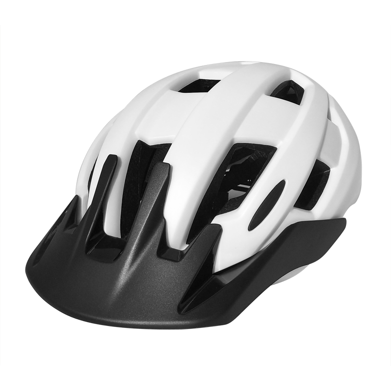 bicycle helmet with integrated lights