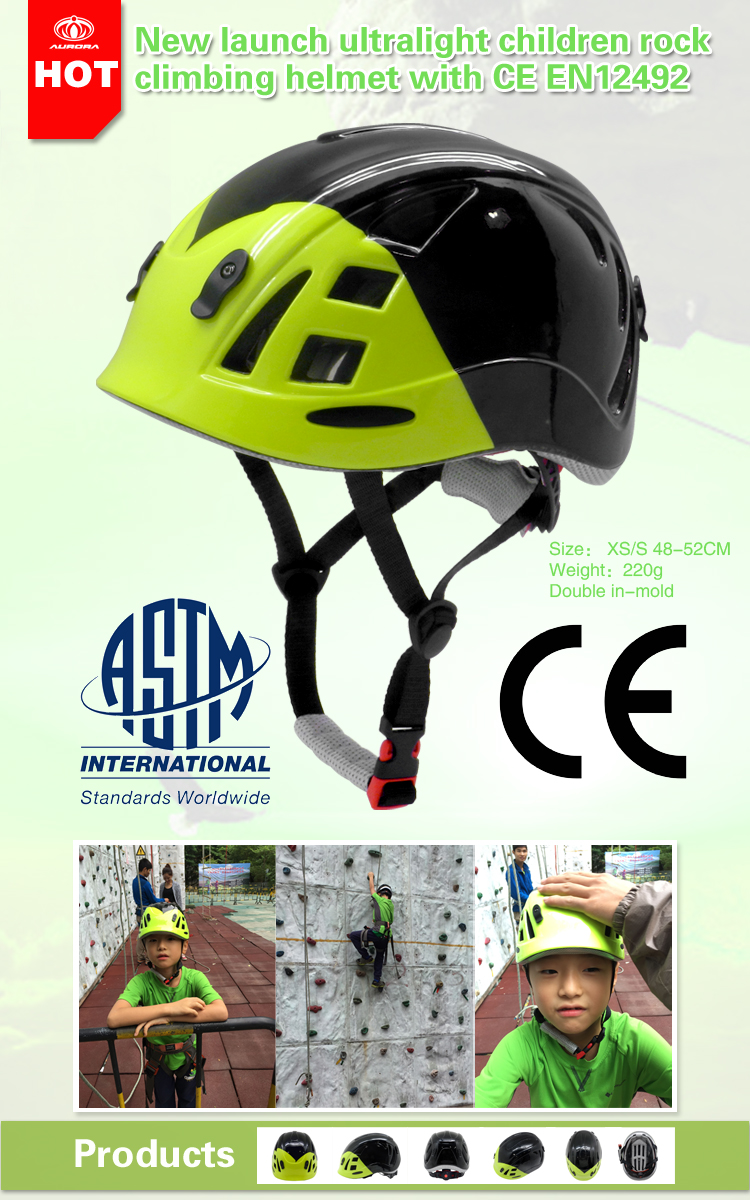 kids climbing safety helmet