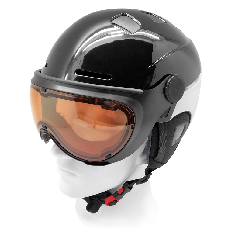 snow race helmets