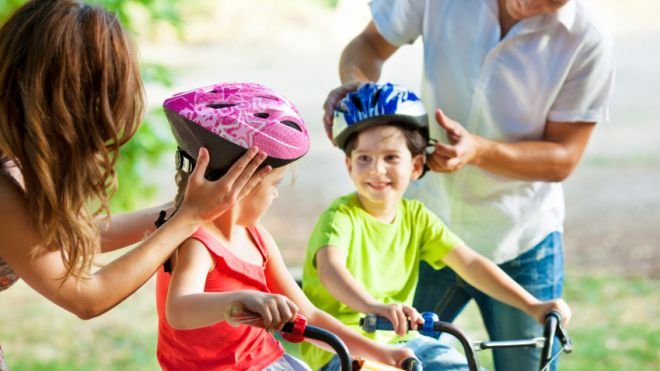 kid bike helmet