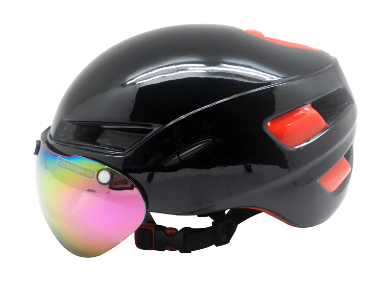 black Time Trial Helmet Supplier