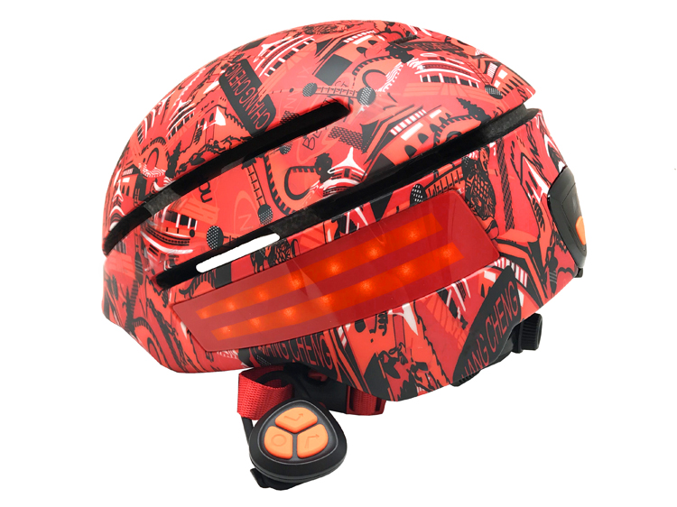 led Smart helmet