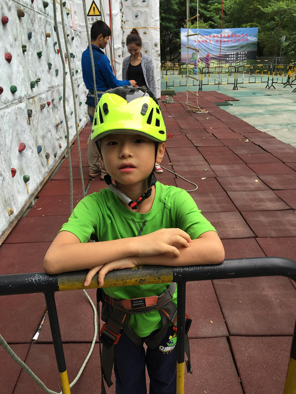 climbing tower safety equipment