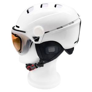 2017 Newest Strong Capabilities On All Kinds Of Helmet, Ski Helmet With Goggles