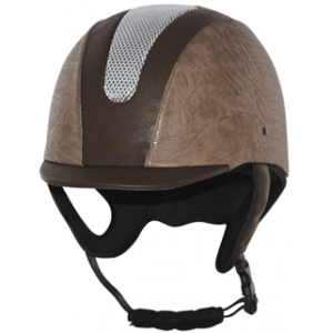 ABS+EPS+PU leather rider helmets, fashion design hat helmets AU-H02