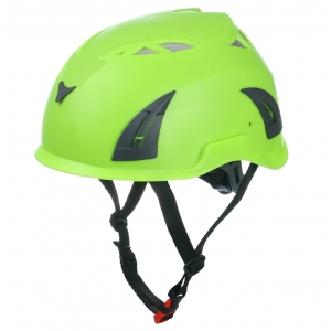 ABS shell climbers black diamond helmet,lightweight climbing helmet