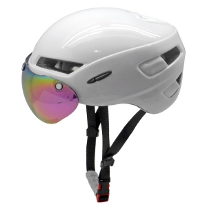 Aero TT bike helmets with magnet visor AU-T02