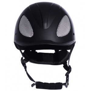 Black riding horse show jumping  helmets AU-H03A