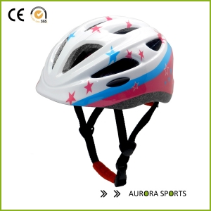 CE approved inmold scooter light weight adjustable kids bicycle helmet AU-C06