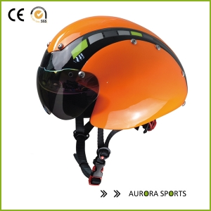 Customised time trial aero helmet with CE AU-T01
