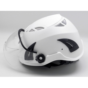 Customized Multicolored ABS Shell Petrochemical Refinery Worker Safety Helmet AU-M02 With Visor with CE approved