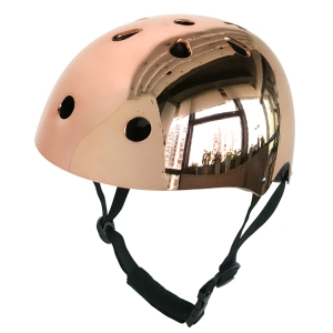 Factory High-end Chrome skate helmet CE&CPSC skateboard helmet for sale
