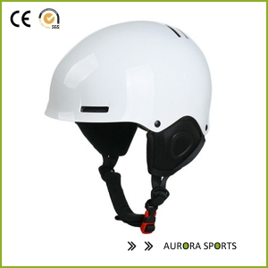 High Quality Matt Cerulean Customized design ski helmet cover with CE approved AU-S12