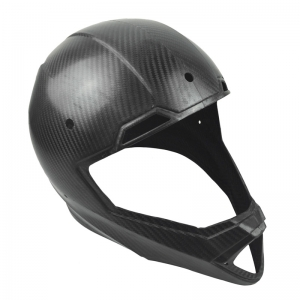 High Quality Prepreg Carbon Fiber helmet cover (Autoclave process)
