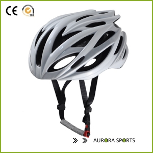 High Quality Silver Bike Helmet custom bike helmet, helmet supplier in China AU-SV333 with CE approved