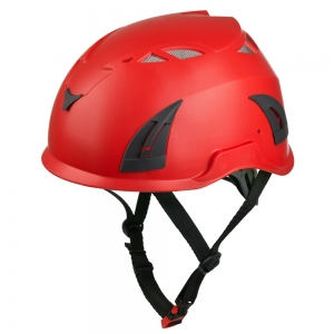 New Arrival AU-M02 Install Light Outdoor Adventure Safety Helmet With CE EN12492
