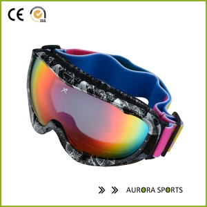 New Double lens anti-fog big spherical professional ski glasses,Snow goggles