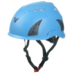 Rock/tree/arborist climbing protective helmet with CE EN12492