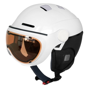 Superb snow helmet with goggle