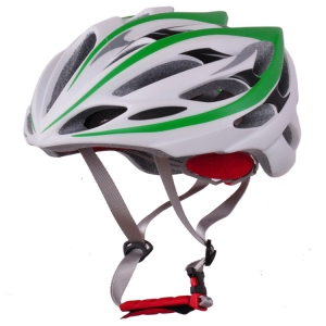 Yellow cycling helmet with customized servise AU-B13