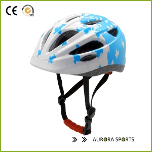 beautiful graphic with inmould technology safety kid riding helmet AU-C06