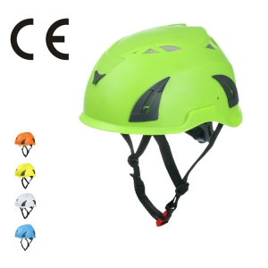 ratchet safety helmet, red safety helmet