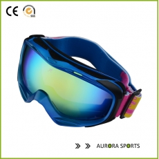 China 2014 high quality outdoor windproof ski goggles goggle glasses dustproof factory