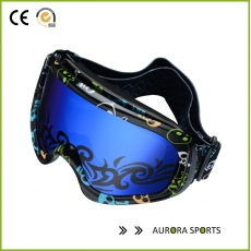 China 2016 New Professional Double Lens Goggles Anti-fog Big Unisex multicolor cross-country goggles QF-M301 factory