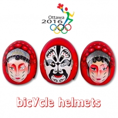 China 2016 Olympic Champions Peking Opera-featured TT Time Trial Helmets factory