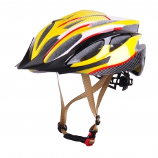 China 2016 latest helmets for bikes, mens mountain bike helmets AU-BM06 factory