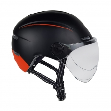 China Full protection with big visor urban city casual bike helmet for cities work or commuting factory