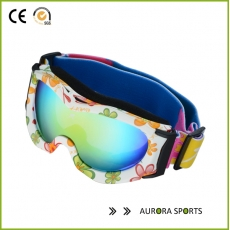 China Anti-fog Big Spherical Outdoor snow Windproof Glasses Unisex Multicolor Snowboard Goggles factory