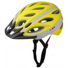 China Bicycle helmet with integrated lights,cycle helmets with built in lights AU-L01 factory