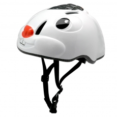 China CE certified 3D animals children bike helmet, Factory kids bicycle helmet with LED light factory