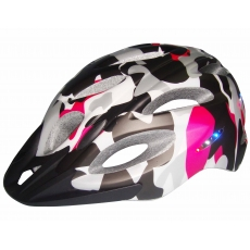 China CE certified mountain bike helmet light, best helmet light intergrated AU-L01 factory