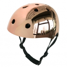 China Factory High-end Chrome skate helmet CE&CPSC skateboard helmet for sale factory