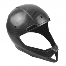 China High Quality Prepreg Carbon Fiber helmet cover (Autoclave process) factory
