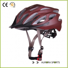 China Intergrally-mould ultra light ventilation custom made cycling helmet AU-BM06 factory