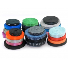 China Nylon heavy and strong webbing ribbon bias tape for Bicycle helmet and safety helmet factory