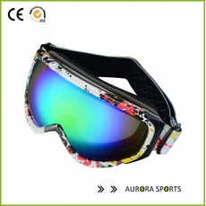 China QF-S710 2020 New dual lens uv-protection anti-fog snow skiing ski goggles men mask snowboarding glasses factory