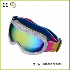 China QF-S713 Double lens Anti-fog Professional ski glasses,snow goggles Snowboard Goggles factory