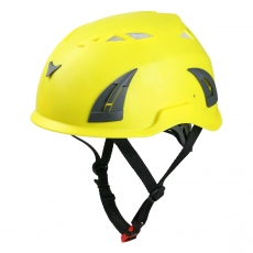 China Special Offer Newest Custom Rescue Safety Helmet, Best Mountaineering Helmet AU-M02 factory